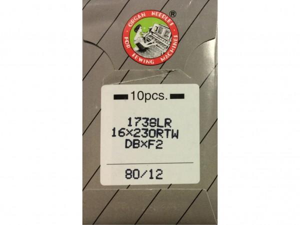 Nähmaschinennadeln System 1738 LR Leder 80
