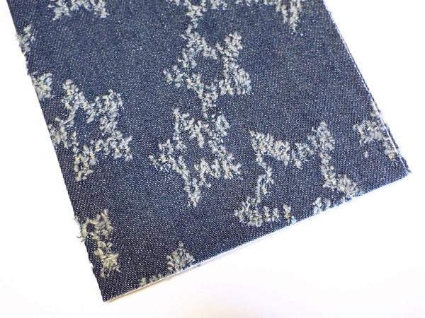 Patches Jeans mit Sternen 17 x 43 cm (jeans)