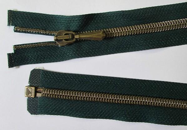 RV grün dunkel, 090 cm Kunststoff teilbar Spirale