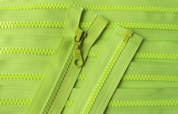 RV grün, 025 cm Kunststoff teilbar Krampe