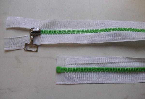 RV weiß, 050 cm Kunststoff teilbar Krampe