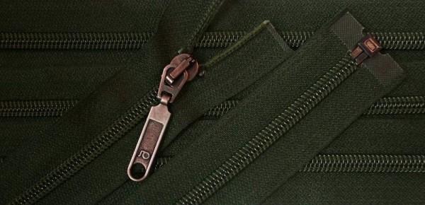 RV grün dunkel, 078 cm Kunststoff teilbar Spirale