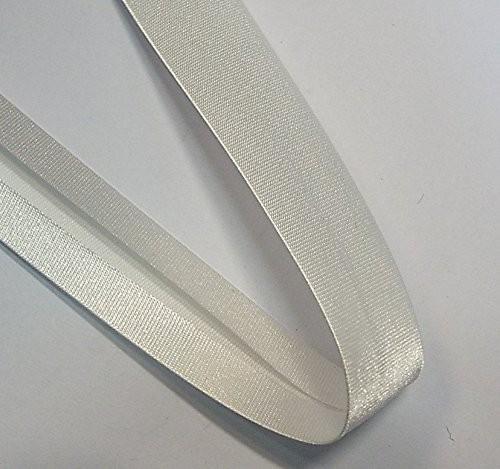 Satinschrägband perle 20 mm
