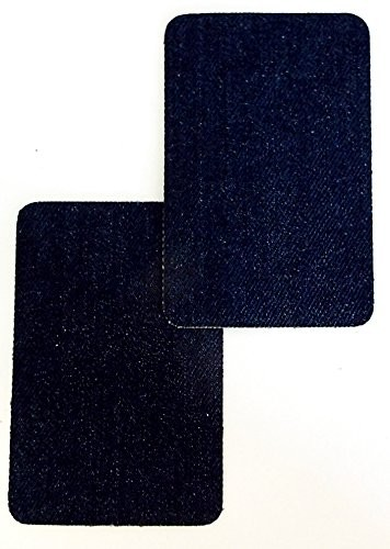 Patches Jeans eckig 9 x 6 cm