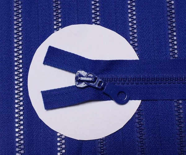 RV blau royal, 045 cm Kunststoff teilbar Krampe