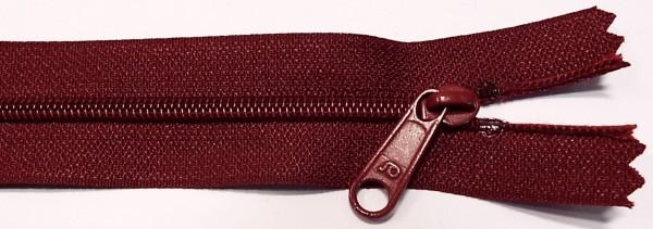 RV rot dunkelrot, 025 cm Kunststoff nicht teilbar