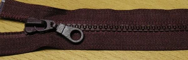 RV rot bordeaux, 030 cm Kunststoff teilbar Krampe