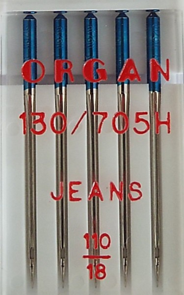 Nähmaschinennadeln Jeans 130/705 Stärke 110