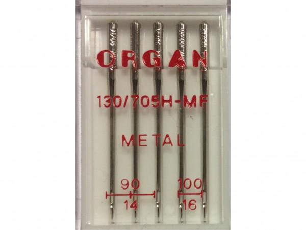 Nähmaschinennadeln System 130/705 H - MF Metal