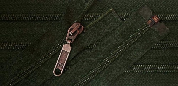 RV grün dunkel, 069 cm Kunststoff teilbar Spirale
