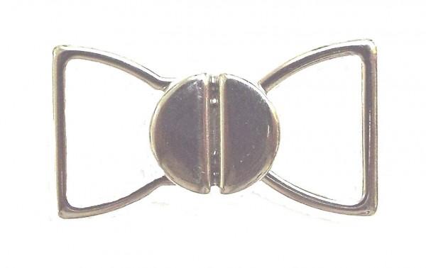 Bikiniverschluß silber 15 mm