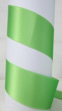 Satinband Double Face 100 mm apfelgrün