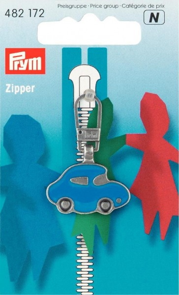 Fashion-Zipper für Kinder Auto