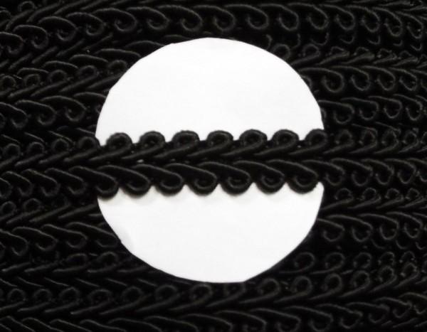 Posamentenborte 10 mm schwarz