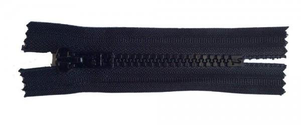 RV schwarz, 008 cm Kunststoff nicht teilbar Krampe