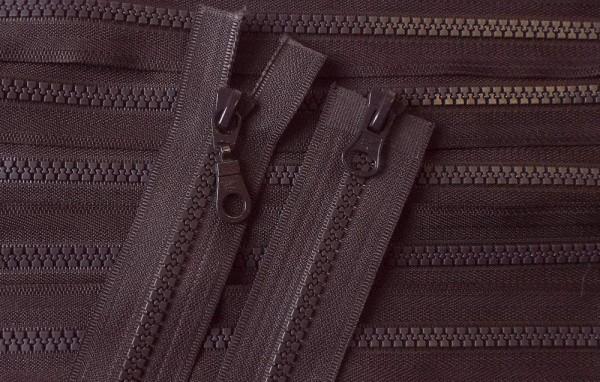 RV braun dunkel, 065 cm Kunststoff teilbar 2-Wege Krampe