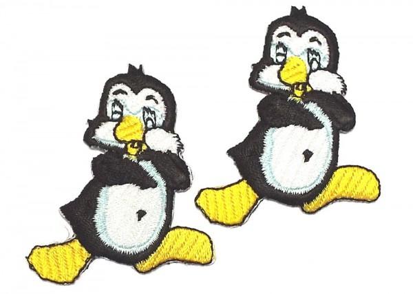 2 Applikation kleiner Pinguin 45 x 50 mm