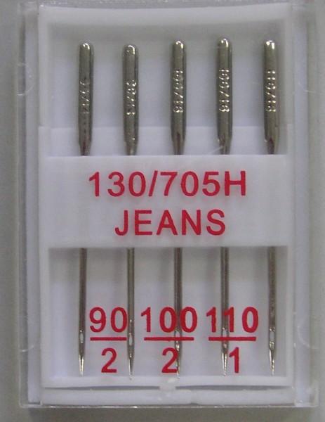 Nähmaschinennadeln 130/705 Jeans 90 - 110