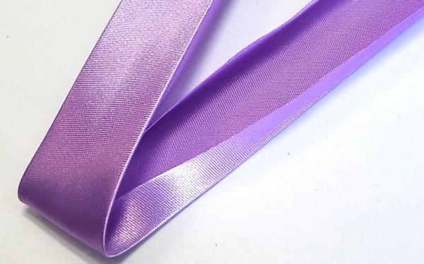 Satinschrägband flieder 20 mm