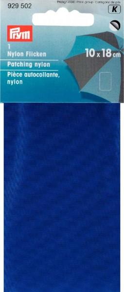 Klebeflicken Nylon 10 x 18 cm blau