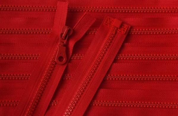 RV rot, 030 cm Kunststoff teilbar Krampe