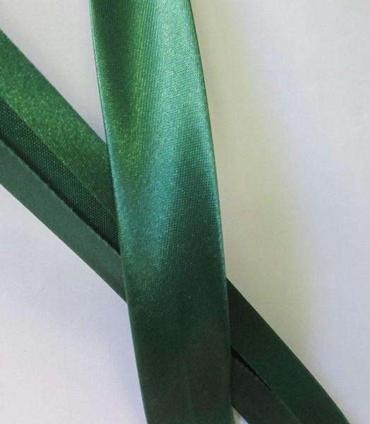 Satinschrägband grün 20 mm