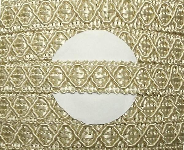 Posamentenborte beige 12 mm