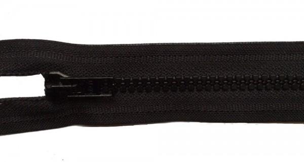 RV schwarz, 038 cm Kunststoff teilbar Krampe