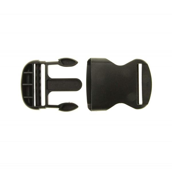 Steckschnalle stark KST 40 mm schwarz