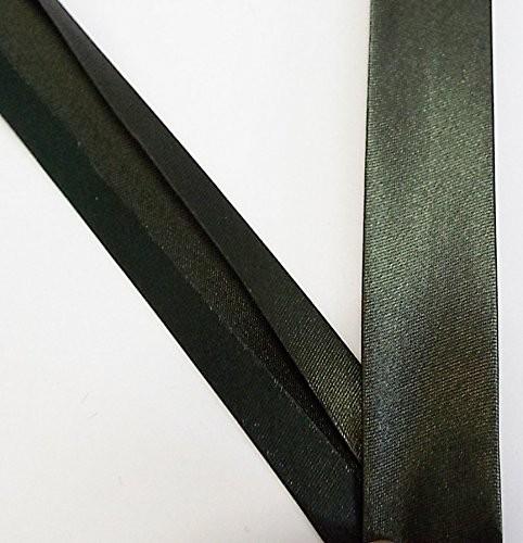 Satinschrägband dunkel grün 20 mm