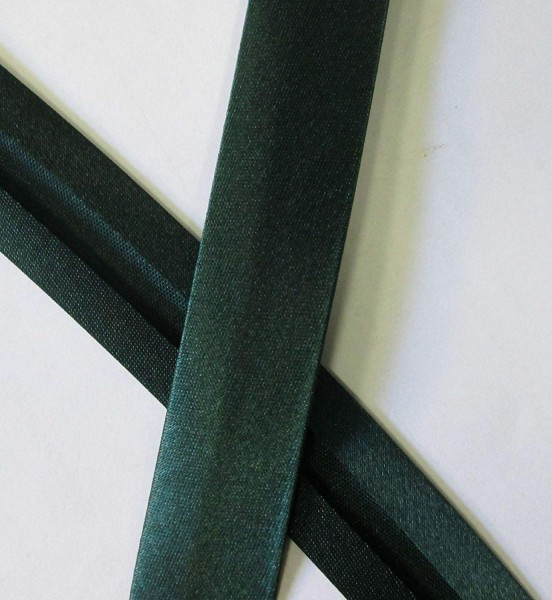 Satinschrägband tannen grün 20 mm