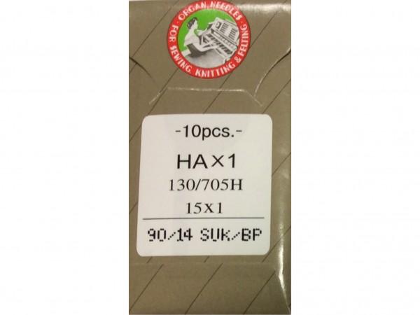 Nähmaschinennadeln 130/705 Stärke 90 SUK