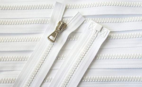 RV weiß, 071 cm Kunststoff teilbar Krampe