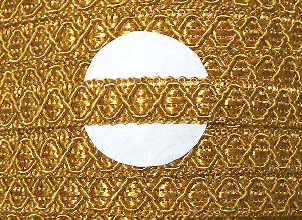 Posamentenborte gold 12 mm