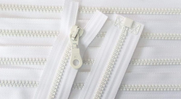 RV weiß, 040 cm Kunststoff teilbar Krampe