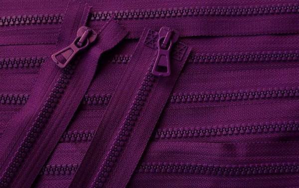 RV violett, 056 cm Kunststoff teilbar 2-Wege Krampe