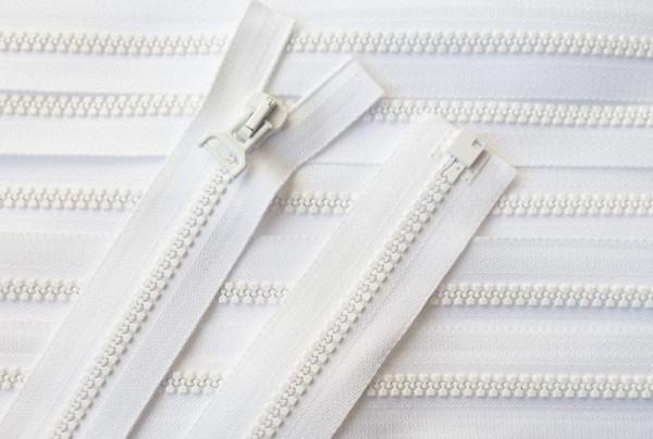 RV weiß, 061 cm Kunststoff teilbar Krampe