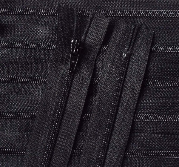 RV schwarz, 080 cm Kunststoff für Bettwäsche