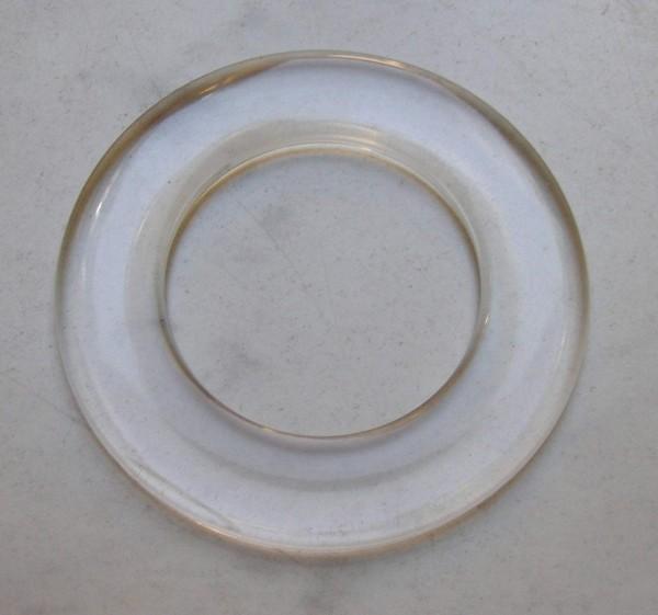 Hohlring aus Kunststoff, transparent 50mm