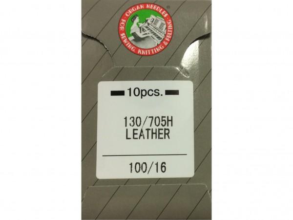 Nähmaschinennadeln Leder Stärke 100 130/705 H