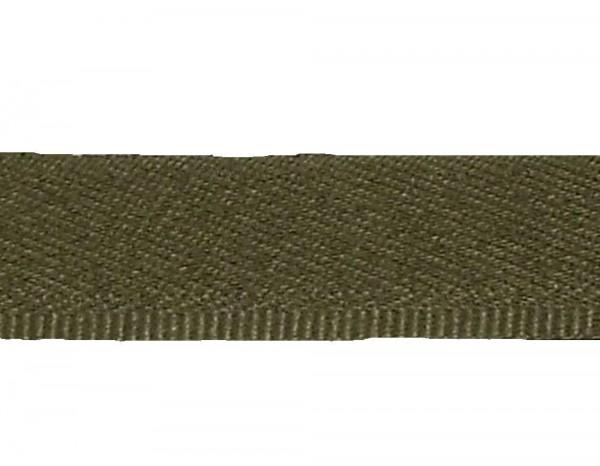 25 m Hosenschonerband/Stoßborte 15 mm oliv col. 572