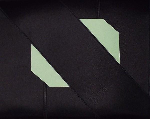 Satinband Double Face 70 mm schwarz