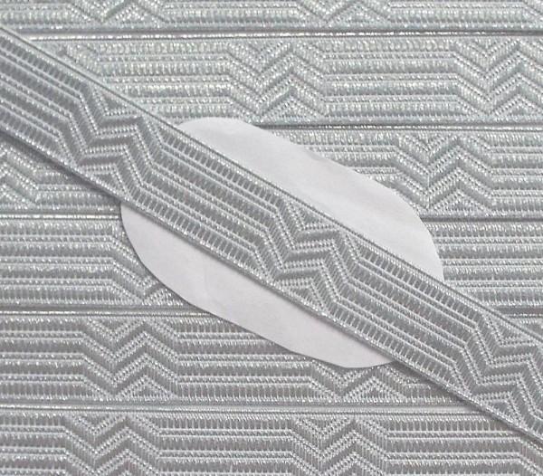 Uniform Tresse silber 15 mm