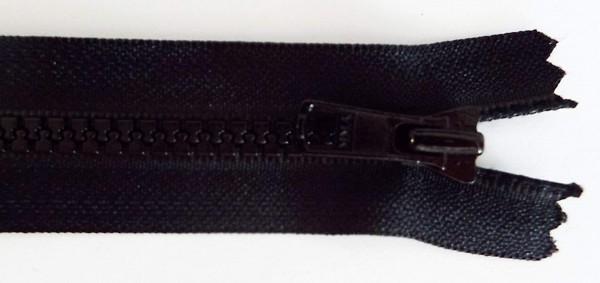 RV schwarz, 018 cm Kunststoff nicht teilbar Krampe