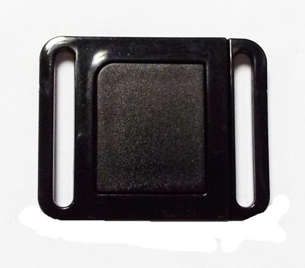 Bikini Click Verschluß schwarz 24 mm