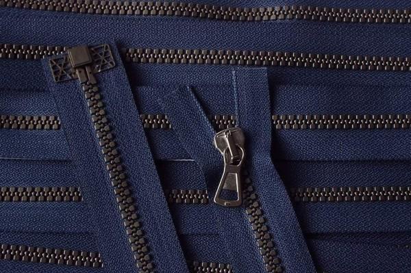 RV blau dunkel, 071 cm Kunststoff teilbar Krampe