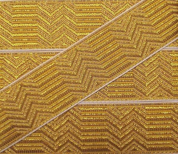 Uniform Tresse Gold 20 mm