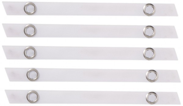 Nähfrei-Aufhänger Frottee weiß