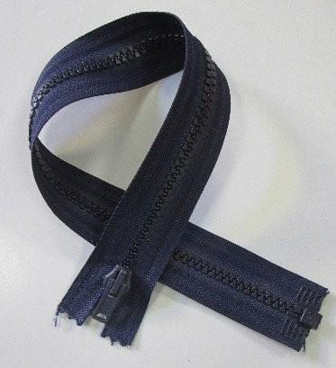 RV blau, 038 cm Kunststoff teilbar Krampe