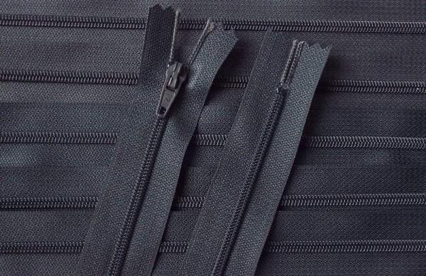 RV grau dunkelgrau, 030 cm Kunststoff nicht teilbar